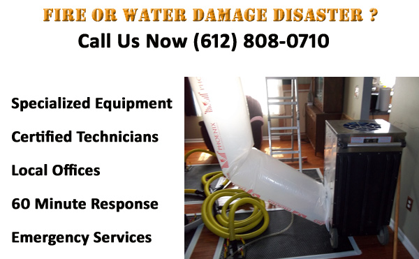 apple valley fire water damage cleanup