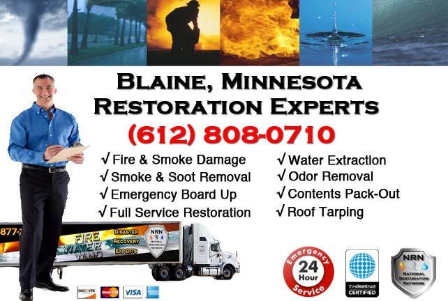 Blaine Fire Damage Restoration Contractor