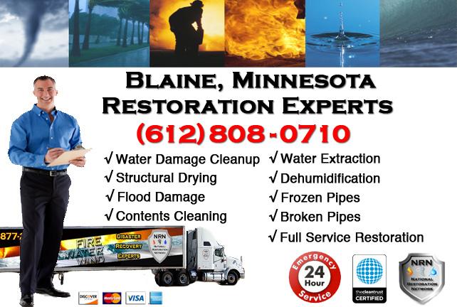 Blaine Water Damage Restoration