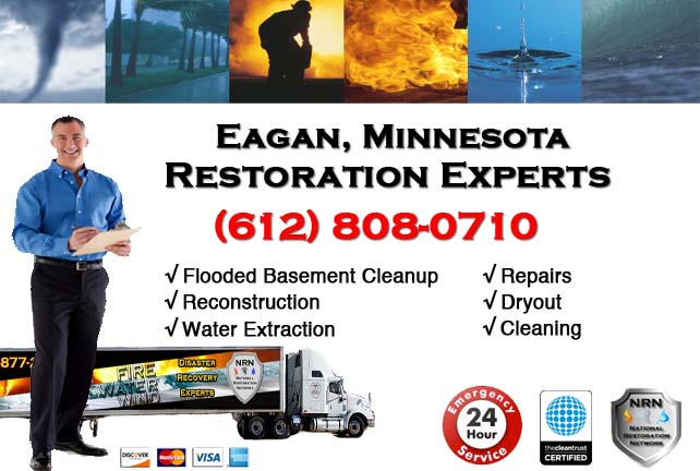 Eagan Flooded Basement Cleanup
