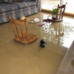 flood living room